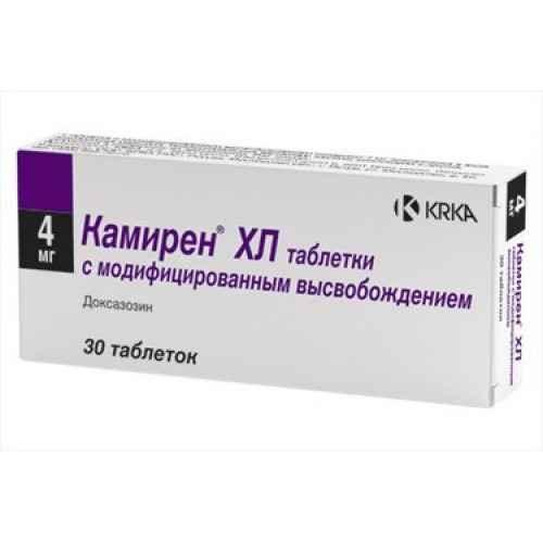 Камирен 4 мг №30