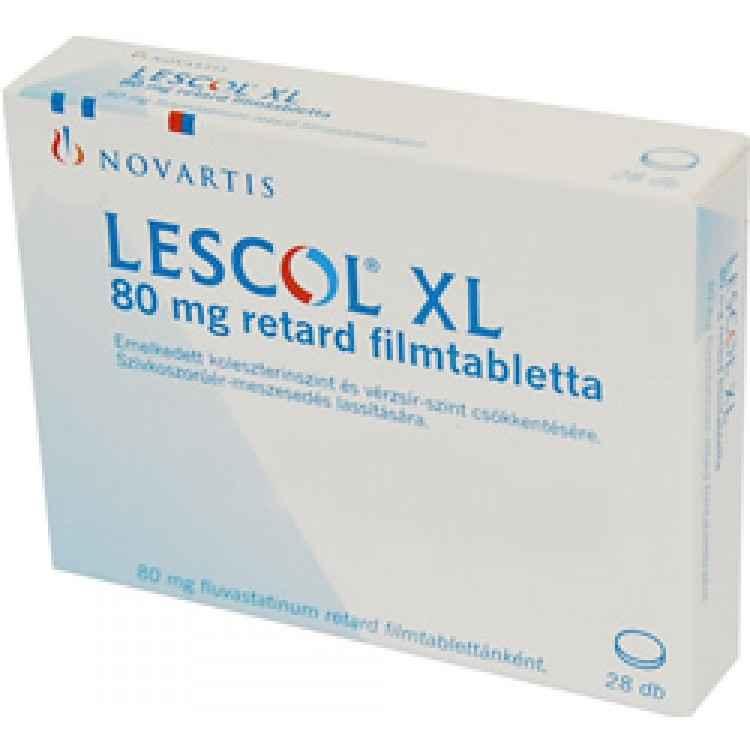 Лескол XL 80 mg №28