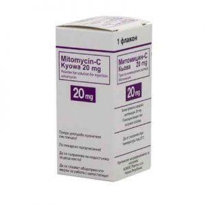 Митомицин-с киова 20 мг