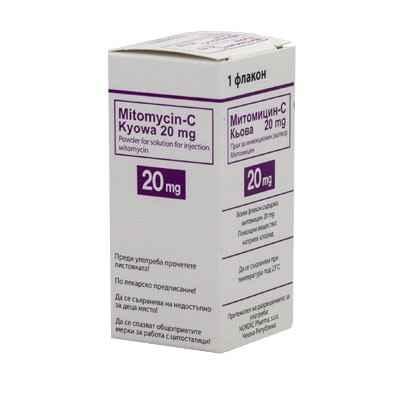 Митомицин-с киова 20 мг. №1
