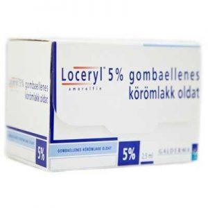 Лоцерил 5%, 2,5 мл