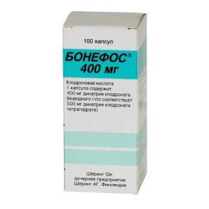 Бонефос 400 мг №100 1