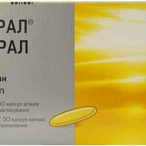 Экворал 50 мг капс №50