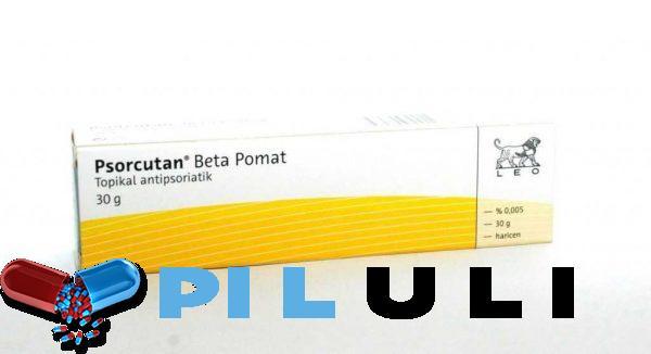 Псоркутан Бета (Дайвобет) мазь 50 мкг/0,5 мг/г, 30 г