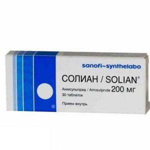 Солиан таб. 200 мг №30