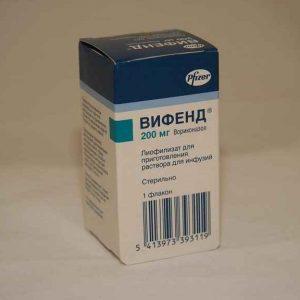 ВИФЕНД 200 мг №1 р-р (порошок)