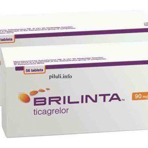 Брилинта (Brilinta)90 мг 56 табл