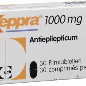 Кеппра (Keppra)1000 MG 50 Tabl