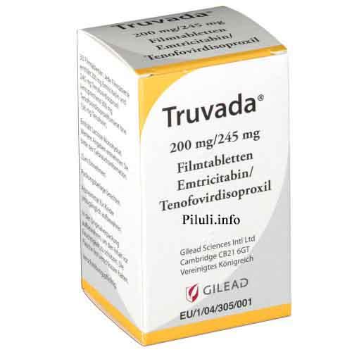 Трувада (Truvada) 245 мг 30 табл