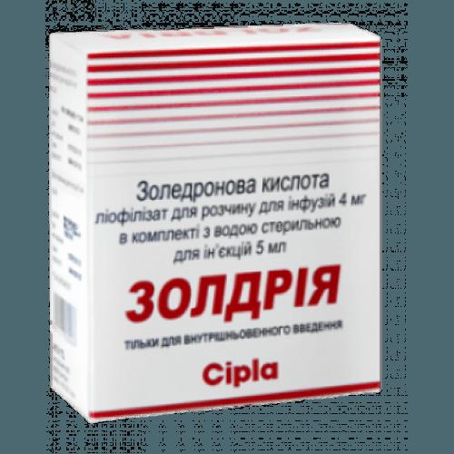 Золдрия 4 мг