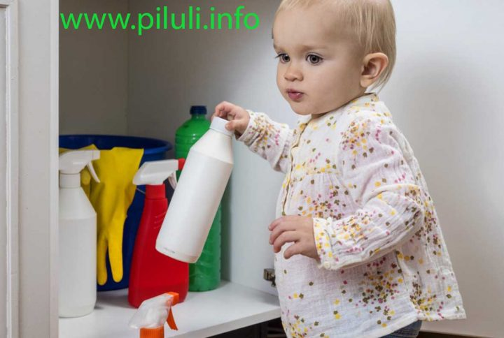 Моющие средства отравляют детей