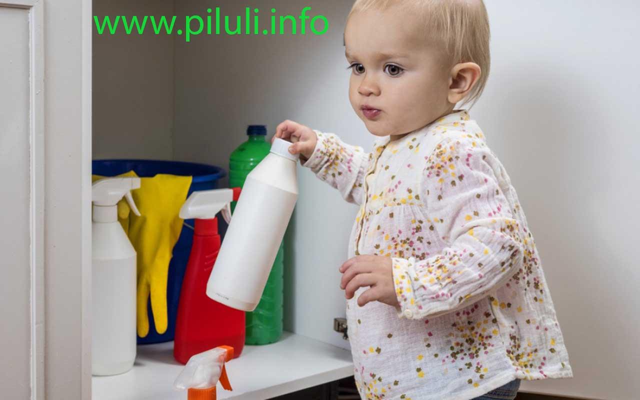 опасность бытовой химии для детей