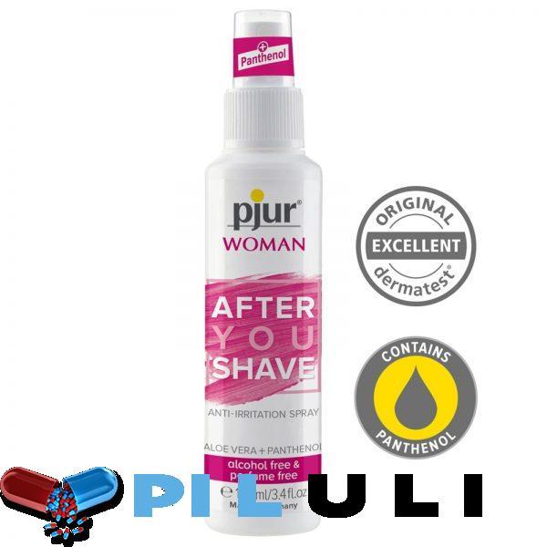 Спрей после бритья pjur Woman 100 мл