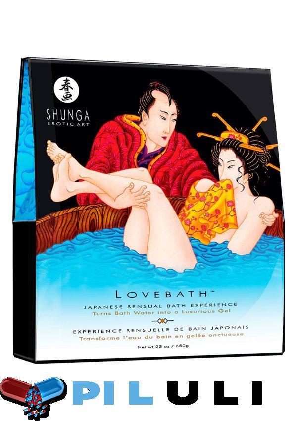 Гель для ванны Shunga LOVEBATH - Ocean temptations